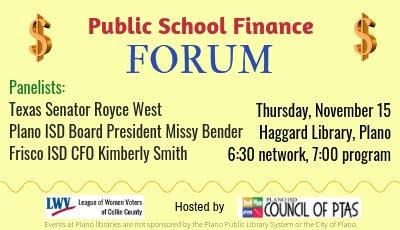 Public School Finance Forum