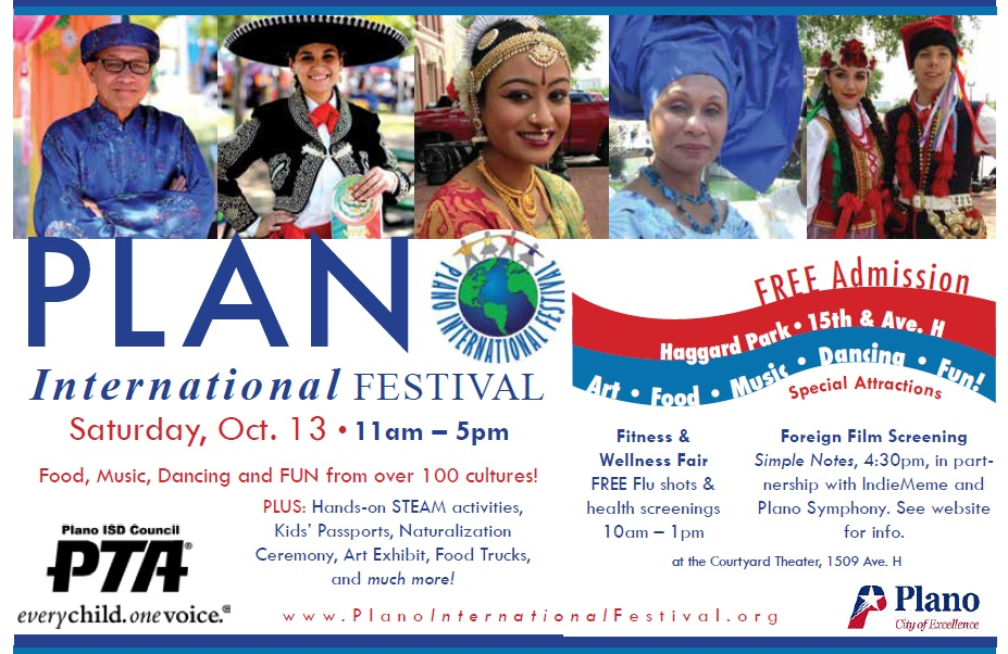 PISD Council of PTAs and the Plano International Festival