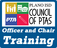 Plano ISD Council of PTAs Officer and Chair Training