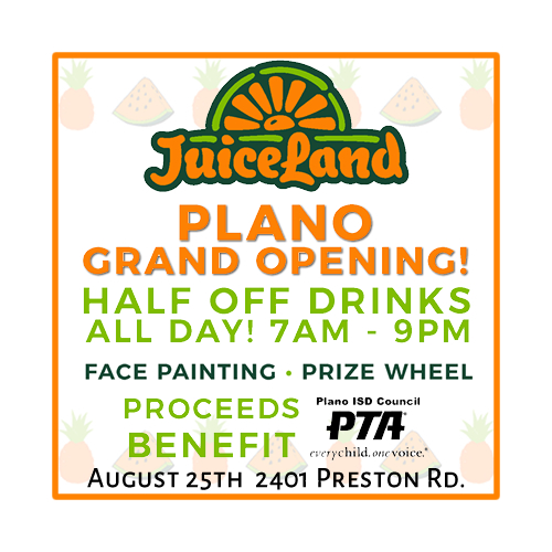 JuiceLand Grand Opening